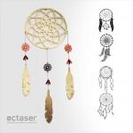 Dreamcatcher sau prinzatorul de vise, obiect traditional al indienilor