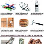 Materiale promotionale personalizate prin gravura laser