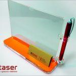 Suport plexiglas / Display plexiglas realizat prin debitare laser
