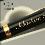 Instrumente de scris de lux personalizate Parker